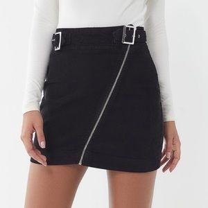 Urban Outfitters Harmony Corduroy Zip Front Skirt